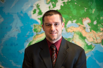 Shawn Moore, Process Control Manager